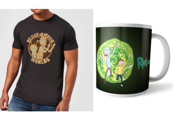 Rick & Morty Bundle (T-Shirt + Tasse)