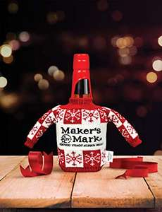 [Amazon Prime mit Coupon] Maker's Mark Red Seal - Jumper Christmas Edition - Kentucky Straight Bourbon Whiskey 45%