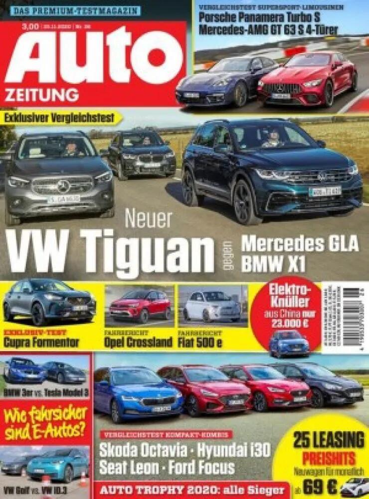 Auto Zeitung Abo (26 Ausgaben) für 82,10 € mit z.B. einem 70 € BestChoice-Gutschein (Kein Werber nötig)