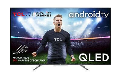 TCL 55C715 QLED-TV (4K UHD, Direct-LED, VA, 410cd/m², HDR10+, Android TV 9.0)