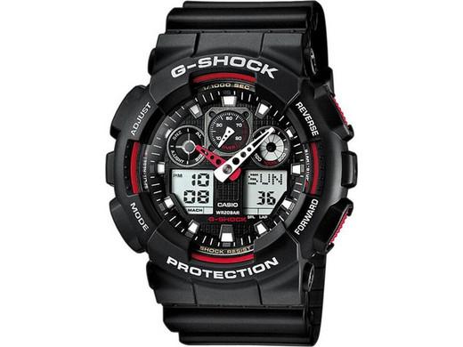 Casio G-SHOCK Armbanduhr GA-100-1A4ER