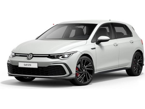 Menschen mit Behinderung: VW Golf 8 GTD 2.0 / 200 PS im Privatleasing für 169€ (eff 195€) monatlich - LF: 0,38