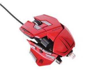 Mad Catz Cyborg Gamer Mäuse (rot) 20% reduziert bei Alternate nur,  am 14.02.13