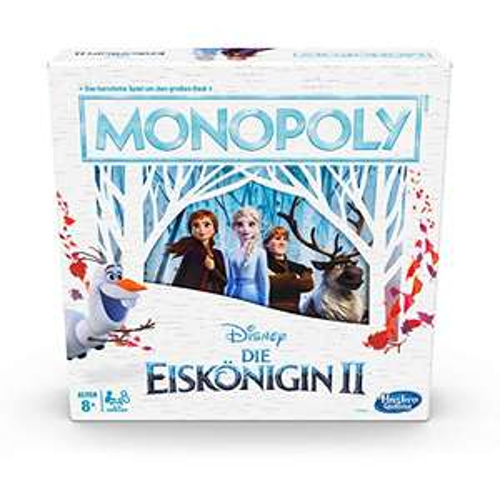 Prime: Hasbro Disney Die Eiskönigin 2 Monopoly, Brettspiel für Kinder ab 8 Jahren