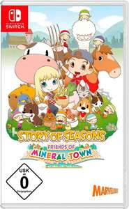 Story Of Seasons: Friends Of Mineral Town - Switch - 25,22€ | Sakuna: Of Rice and Ruin Golden Harvest Edition (PS4 / Switch) - 49,29€