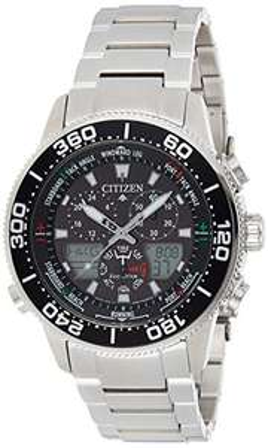 [Amazon.it] Citizen Promaster Marine JR4060-88E Digital Quarz Uhr mit Edelstahl Armband