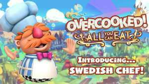 DLC: Overcooked! All You Can Eat - Swedish Chef (Xbox Series X|S & PS5) kostenlos