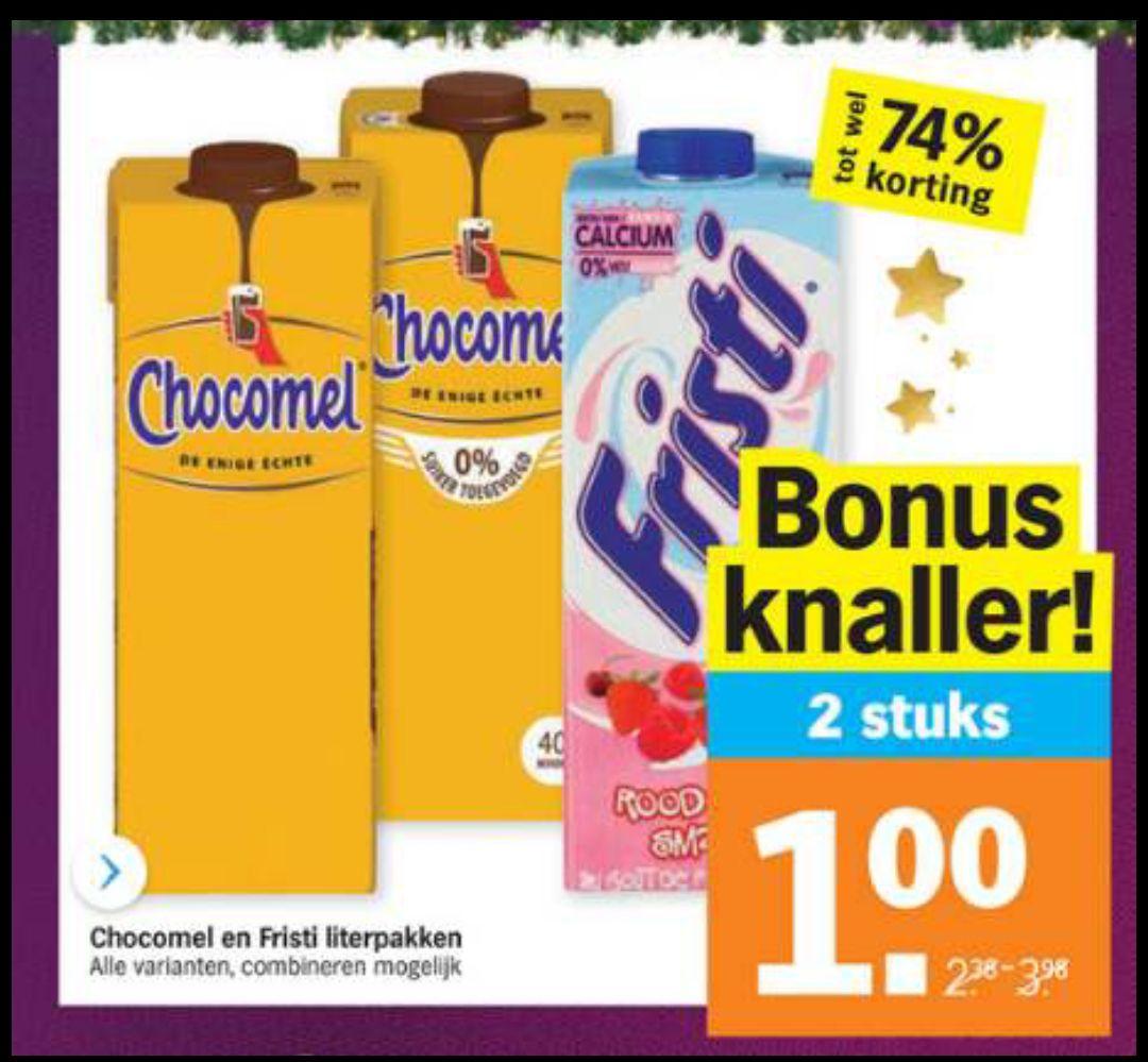 [Grenzgänger Albert Heijn NL] diverse Chocomel zum absoluten Bestpreis bei Kauf von 2 Stück ab 14.12.