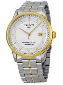 TISSOT Luxury Automatic Silver Dial Men's Watch T086.408.22.036.00