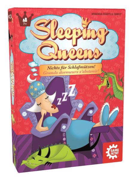 """Thalia: Das Spiel """"Sleeping Queens"""" für 9€"""