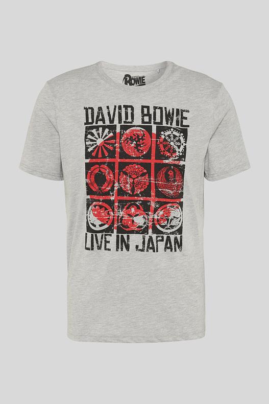 David Bowie - Live in Japan T-Shirt für 5,99€ (Gr.S-XXL) @ C&A