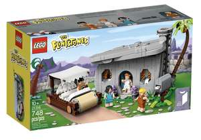 LEGO Ideas 21316 - Familie Feuerstein (The Flintstones)