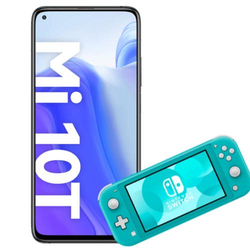 Xiaomi Mi 10T + Nintendo Switch Lite mit mobilcom-debitel Vodafone green LTE (6GB LTE) für 29€ ZZ & mtl. 19,99€