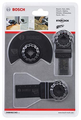 [Amazon Prime] Bosch Professional Starlock Universal-Set für Multi-Cutter 3-teilig