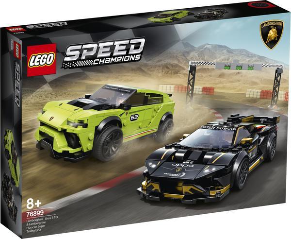 LEGO Speed Champions Lamborghini Urus ST-X & Lamborghini Huracán Super Trofeo EVO (76899) für 39,94 Euro versandkostenfrei [Thalia Klub]