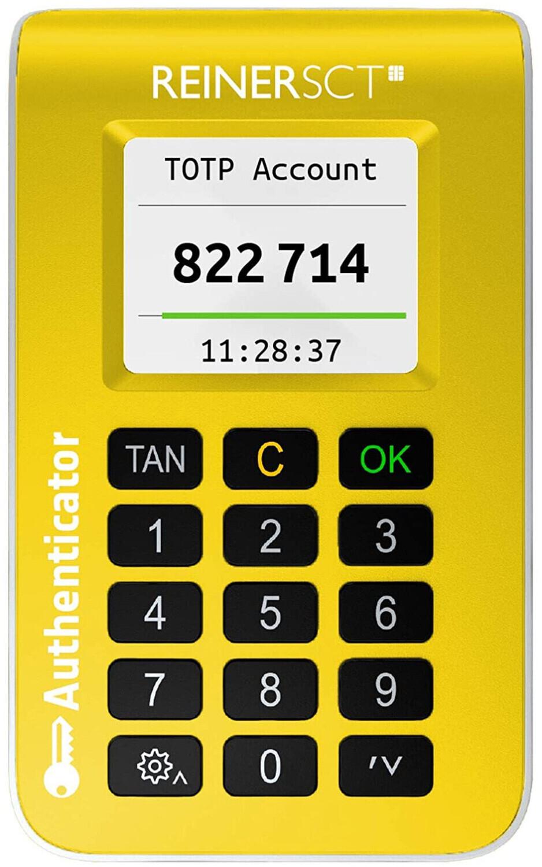 REINERSCT Authenticator - Passwort Generator für 2FA (Zwei Faktor Authentisierung)