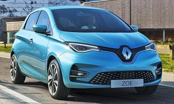 Privatleasing / ADAC: Renault Zoe Elektro / 107 PS (30x sofort verfügbar) für 99€ (eff 142€) monatlich - LF: 0,33