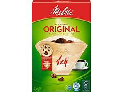 WHD-Deals: Melitta Filtertüten Original 1X4/80 naturbraun für 1,27€