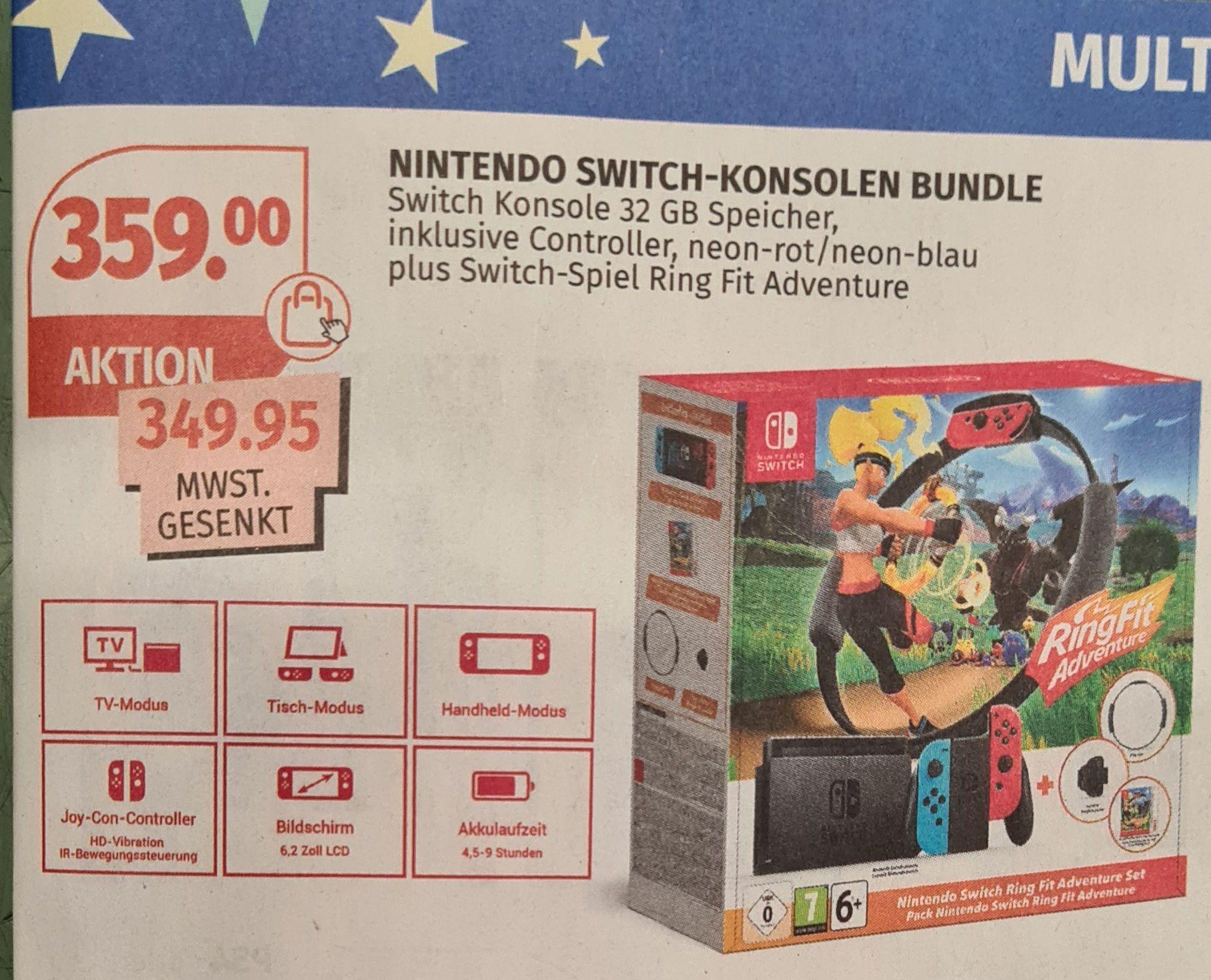 [Müller ab 14.12.] Nintendo Switch Ring Fit Bundle