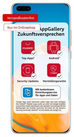 Huawei P40 Pro 256GB schwarz/silber/gold + Nintendo Switch Lite für 49€ einmalig, 29,99€ mtl. im Telekom MD green LTE 10GB