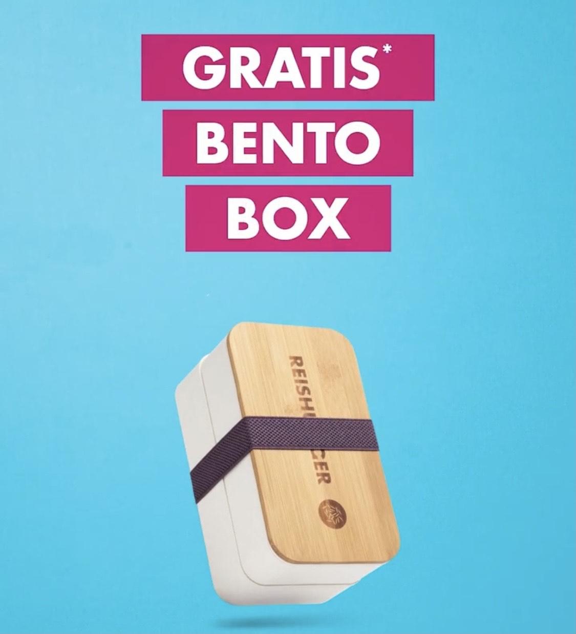 Kostenlose Bento-Box ab 15€