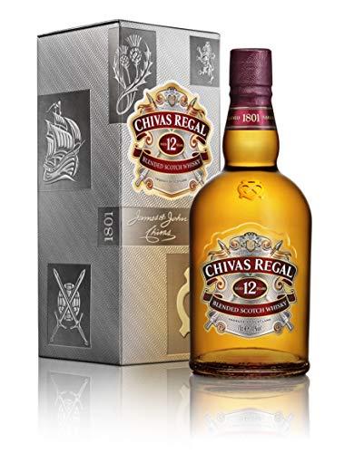Chivas Regal 12 Jahre Premium Blended Scotch Whisky – 1 x 0,7 L