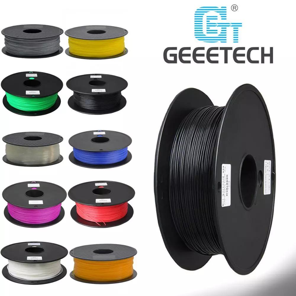 GEEETECH 1KG PLA Filament Für 3D Drucker 1,75mm Filament Seide Filament Muticolor 3d Drucker Filament PLA Grün Holz farbe