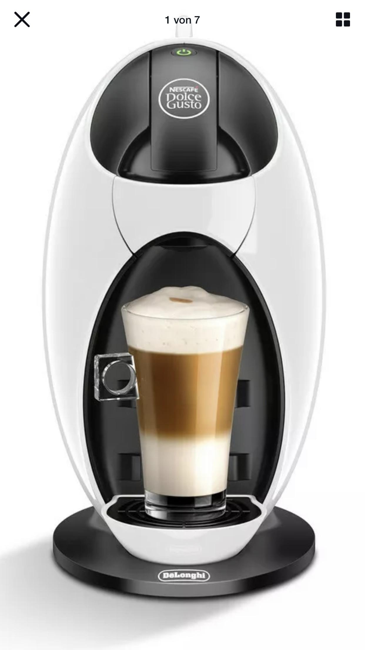 DE'LONGHI Nescafé Dolce Gusto Jovia EDG 250.W Kapselmaschine weiß 1500W (evtl mit Verpackungsmängeln)
