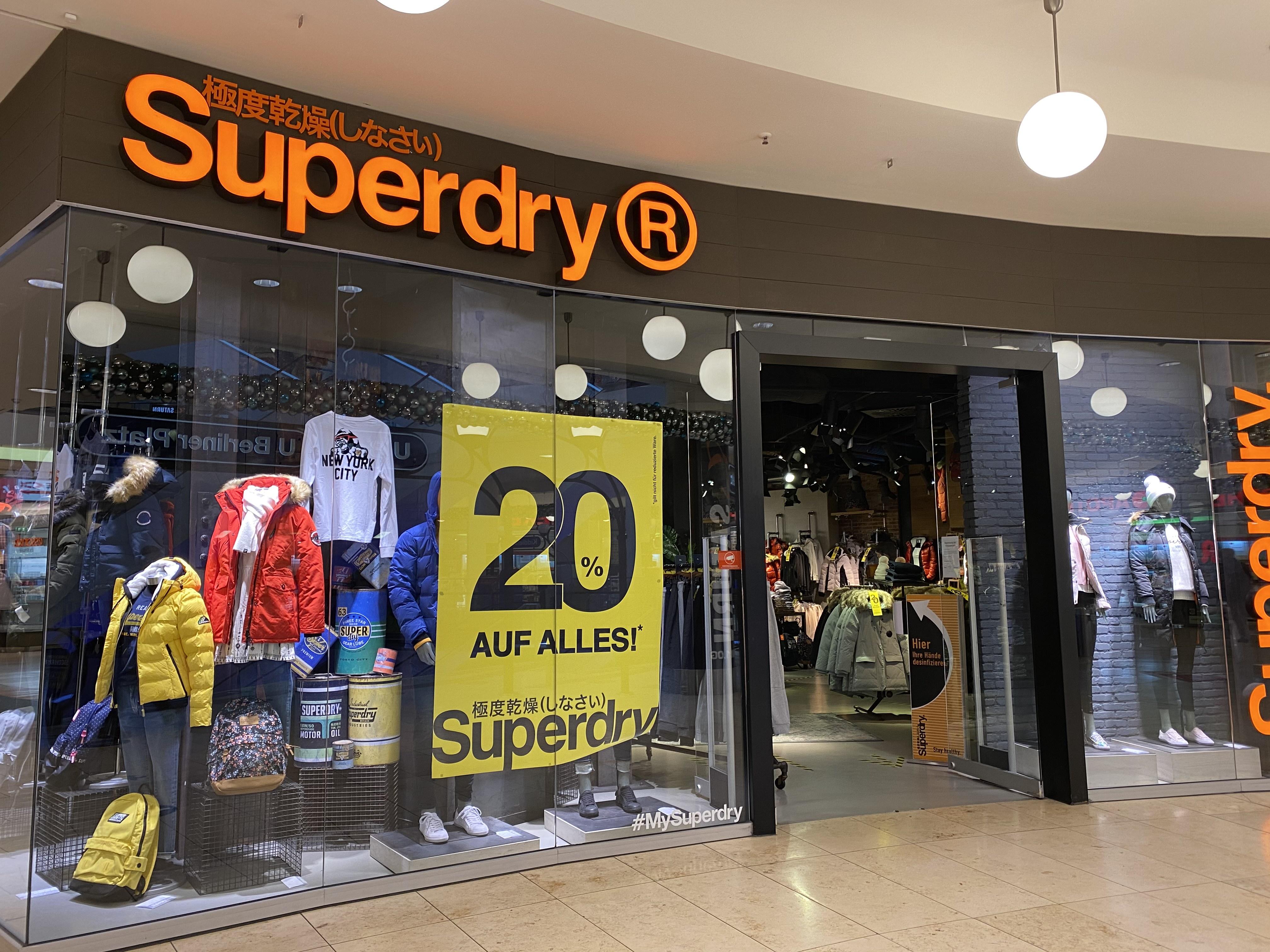 Lokal? 20% auf alles bei Superdry im Limbecker Essen
