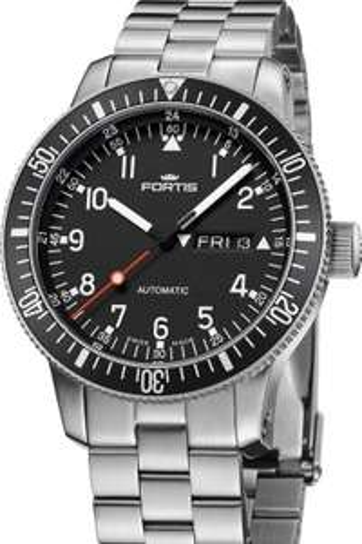 Fortis Official Cosmonauts Herren Automatikuhr Day-Date - Die Uhr für Kosmonauten