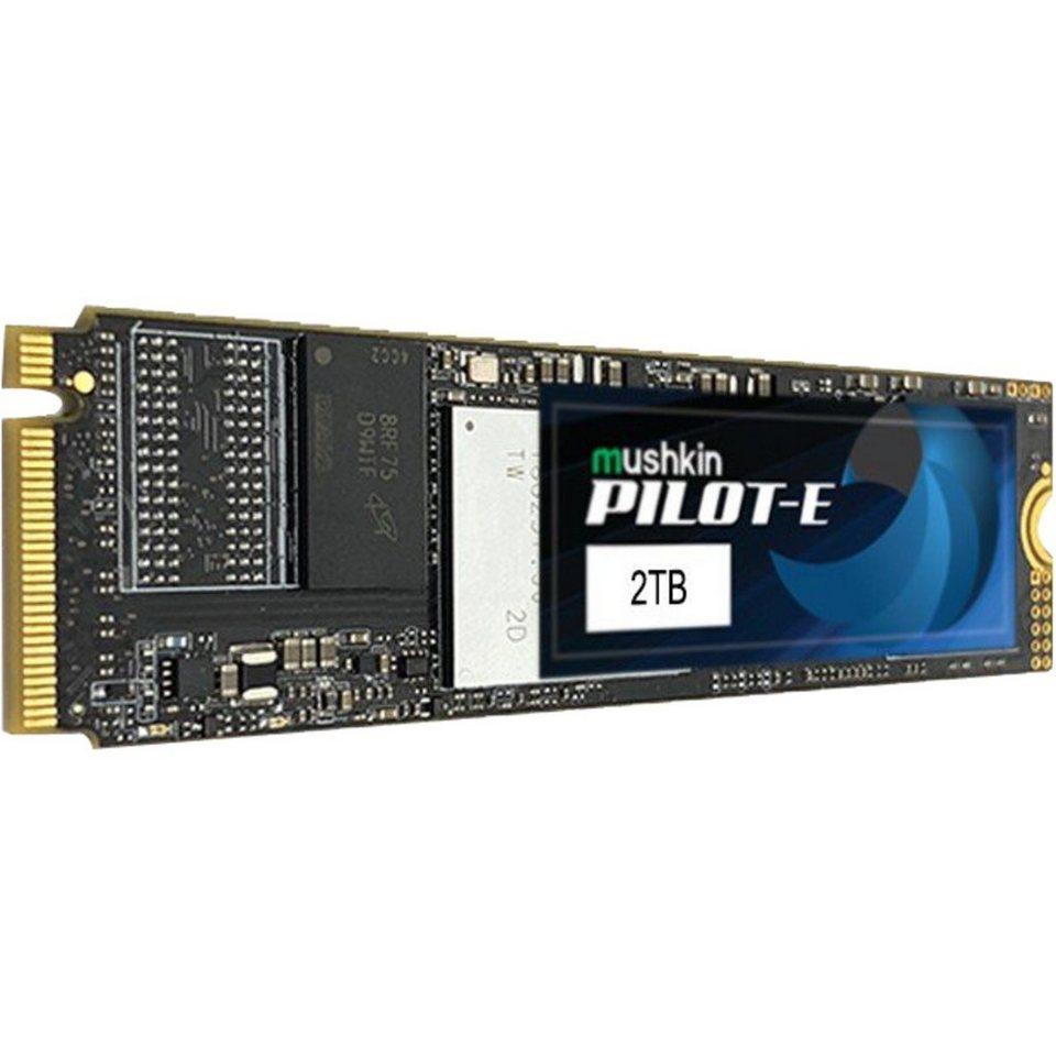 Mushkin Pilot-E 2TB M.2 NVMe SSD (TLC, 2GB DRAM, AES, energieeffizientes Laptop Laufwerk) 190,19€ für Erstbesteller