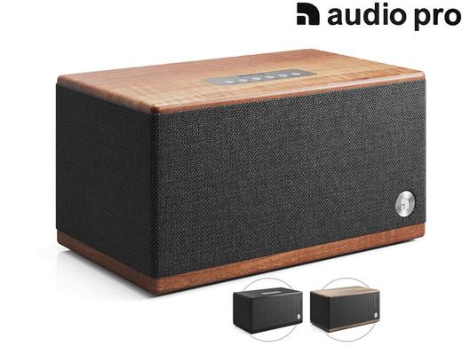 "Audio Pro Bluetooth-Lautsprecher ""BT5"" (50 - 20.000 Hz, 10W + 30W, Digitalverstärker, ¾"" Textil-Kalottenhochtöner, 4""-Tieftöner) [iBOOD]"