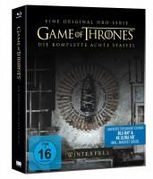 Game of Thrones - Staffel 8 (Limitiertes 4K Ultra HD Steelbook) 3xUHD + 3xBlu-ray inkl. Magnet Siegel