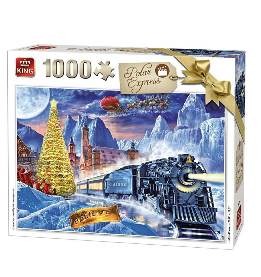 Polarexpress Puzzle 1000 Teile
