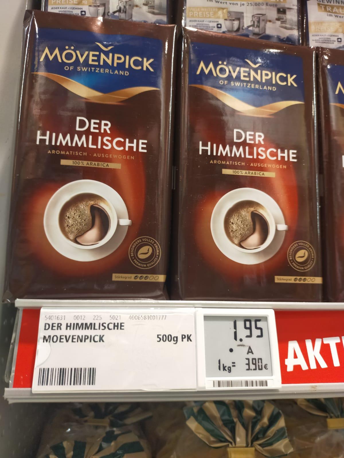 Mövenpick Der Himmlische gemahlen 500g - 1,95 Euro
