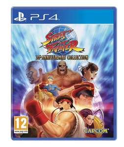 Street Fighter 30th Anniversary Collection (PS4) für 13,93€ @ Base.com
