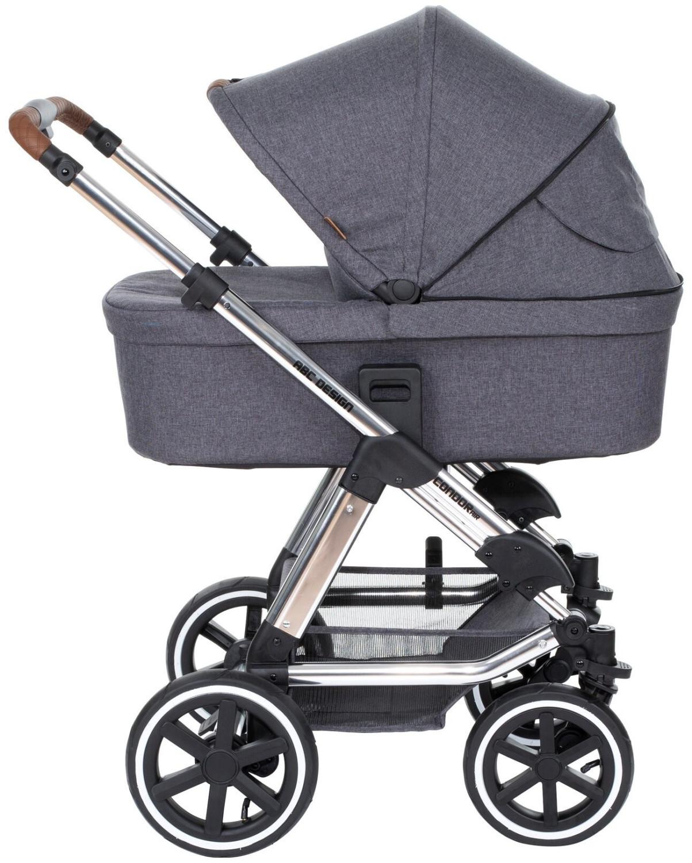 BabyOne - Kombi-Kinderwagen ABC Design Condor Air Diamond Asphalt für 599€