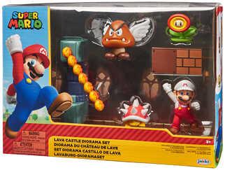 [Kaufland ab 17.12] Jakks Pacific Lavaschloss Super Mario Diorama Set World of Nintendo für 14,61€ / LEGO SUPER MARIO Starterset für 39,11€