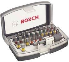 Bosch Professional 32tlg. Schrauberbit Set für 8,80 € oder Metabo Bit-Box SP 32-teilig für 8,31 €