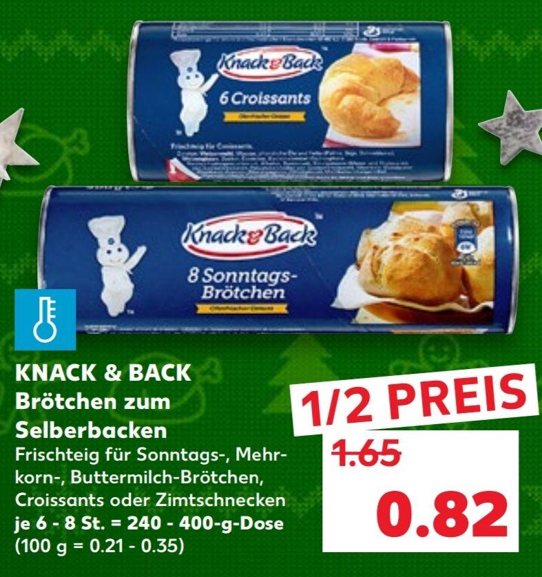 [Kaufland Mo-Do] 2x Knack & Back Produkte mit Coupon für 0,94€ (Stückpreis = 0,47€)