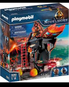 PLAYMOBIL Novelmore 70393 Burnham Raiders Feuerrammbock [Amazon Prime]