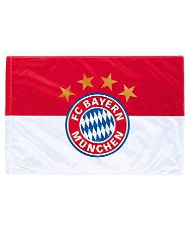 Prime; FC Bayern München Fahne Logo 150 cm mal 100 cm