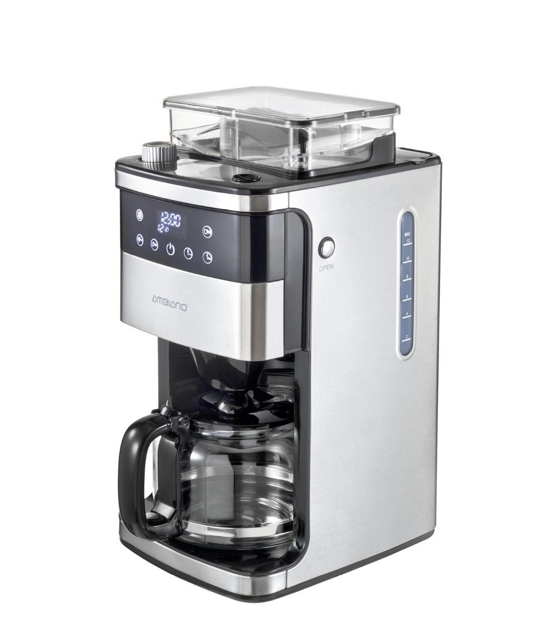 Aldi Süd - Kaffeemaschine mit Mahlwerk