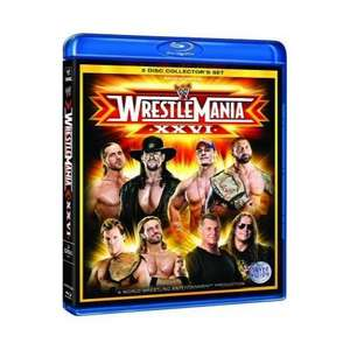 Blu-Ray Box - WWE Wrestlemania 26 (3 Discs) für €12,39 [@Play.com]