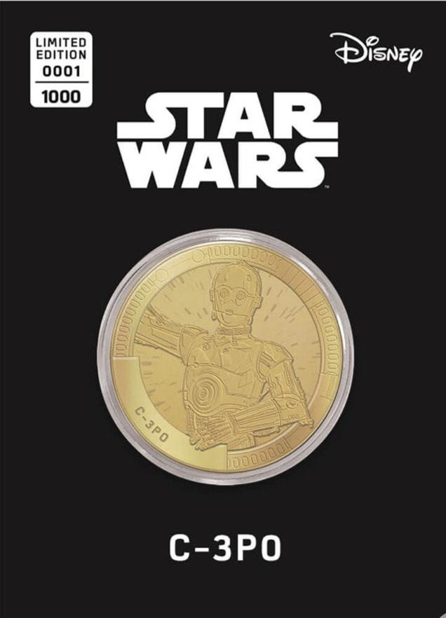 Collectable Star Wars Commemorative Coin 1 von 24