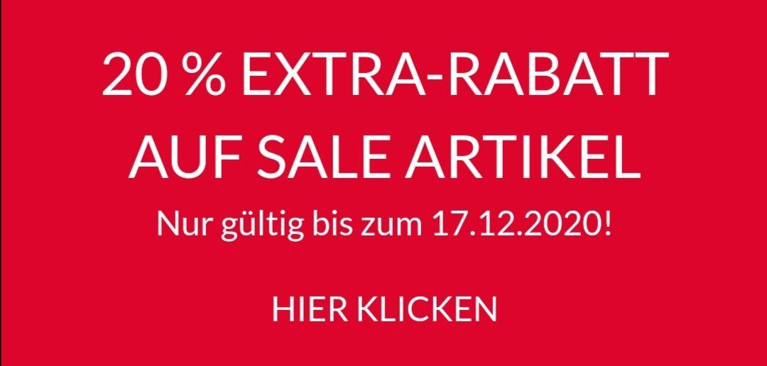 20 % EXTRA-RABATT AUF SALE ARTIKEL bei Skatedeluxe
