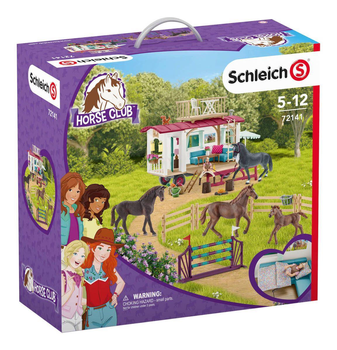 Schleich Horse Club Geheimes Turnier-Training am Caravan 72141