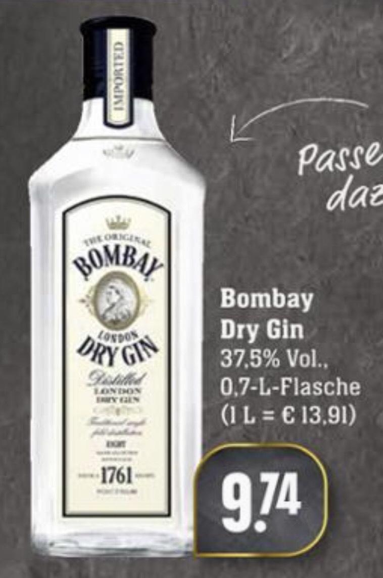 [EDEKA/SCHECK-IN] Bombay Dry Gin 37,5% (1 x 0,7l)