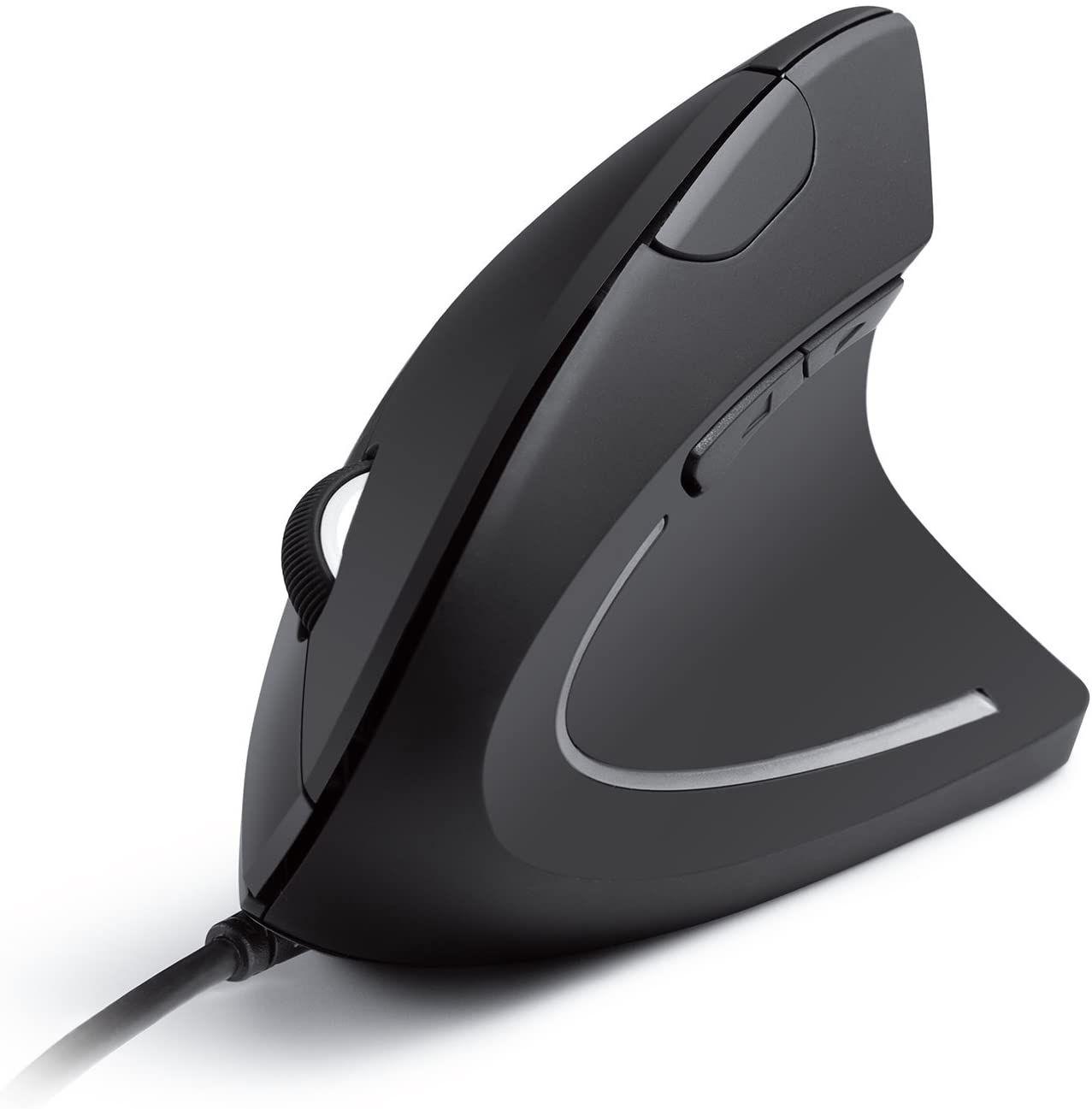 Sammeldeal z.B Anker Vertikale Maus Vertical Ergonomic Optical Mouse - USB Kabel Kompatibel, Rechtshänder