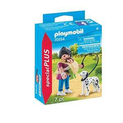Playmobil special PLUS [Sammel Deal] z.B. PLAYMOBIL Mama mit Baby und Hund, bunt 2,99€